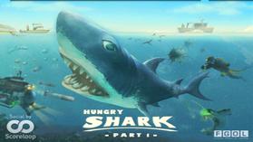 サメになって魚や人をガブリッ! 中毒性が高い「Hungry Shark」